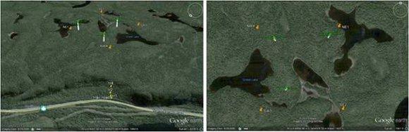 Wind Farm satellite image